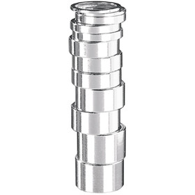 "Humpert Ergotec Entretoise de jeu de direction 1 1/8"" 2mm, silver"